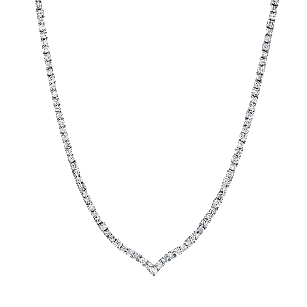 Collar Tennis Diamond Necklace
