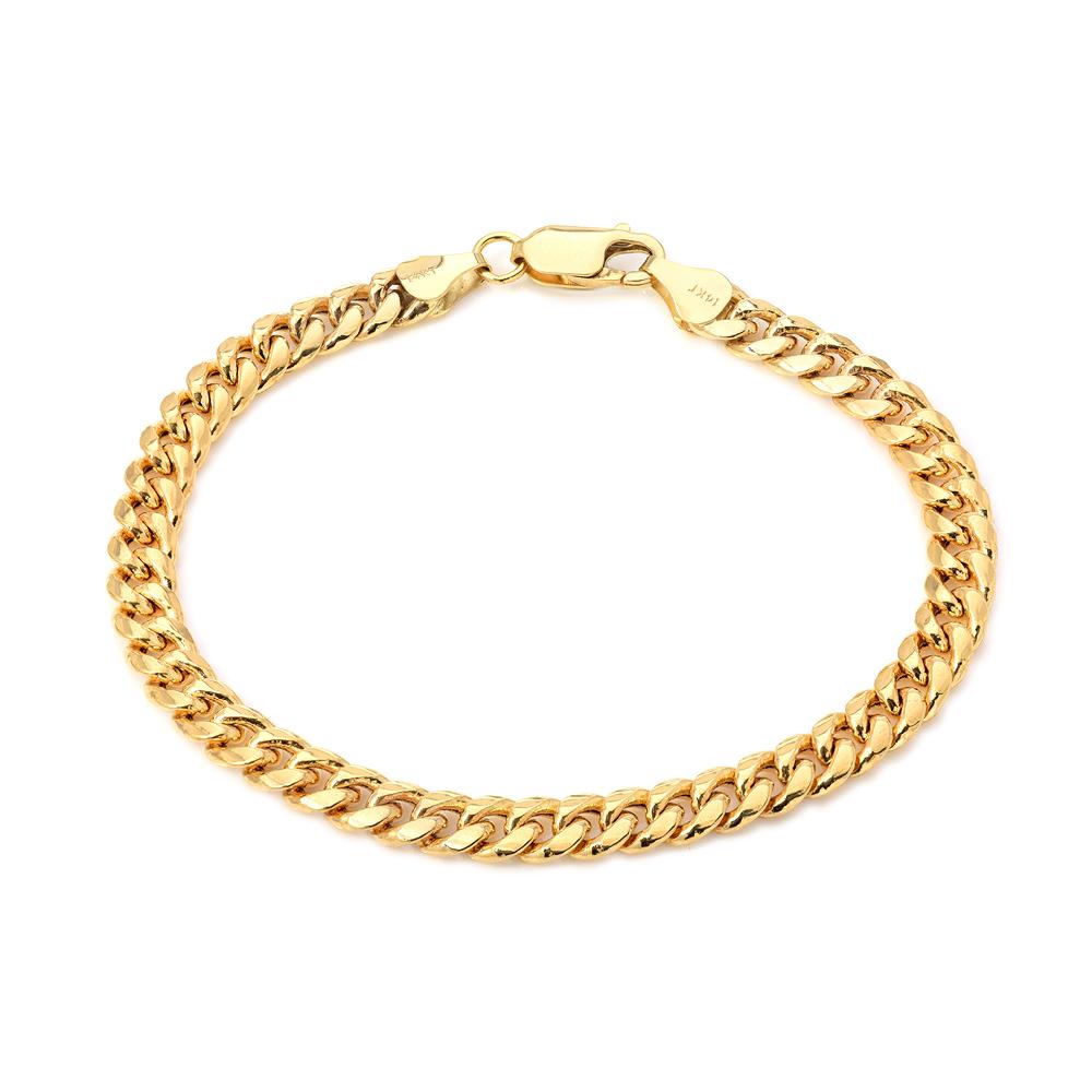 Solid Cuban Link Bracelet