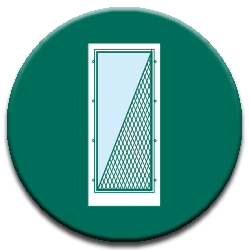 screen storm green icon