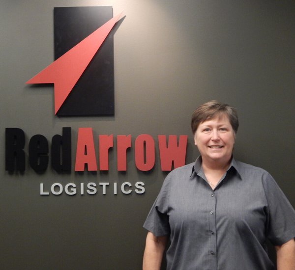 Liz Lasater, President and CEO   Red Arrow Logistics
