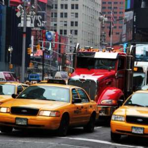"New York Adopts ""Congestion Pricing"" and Truckers Wince"