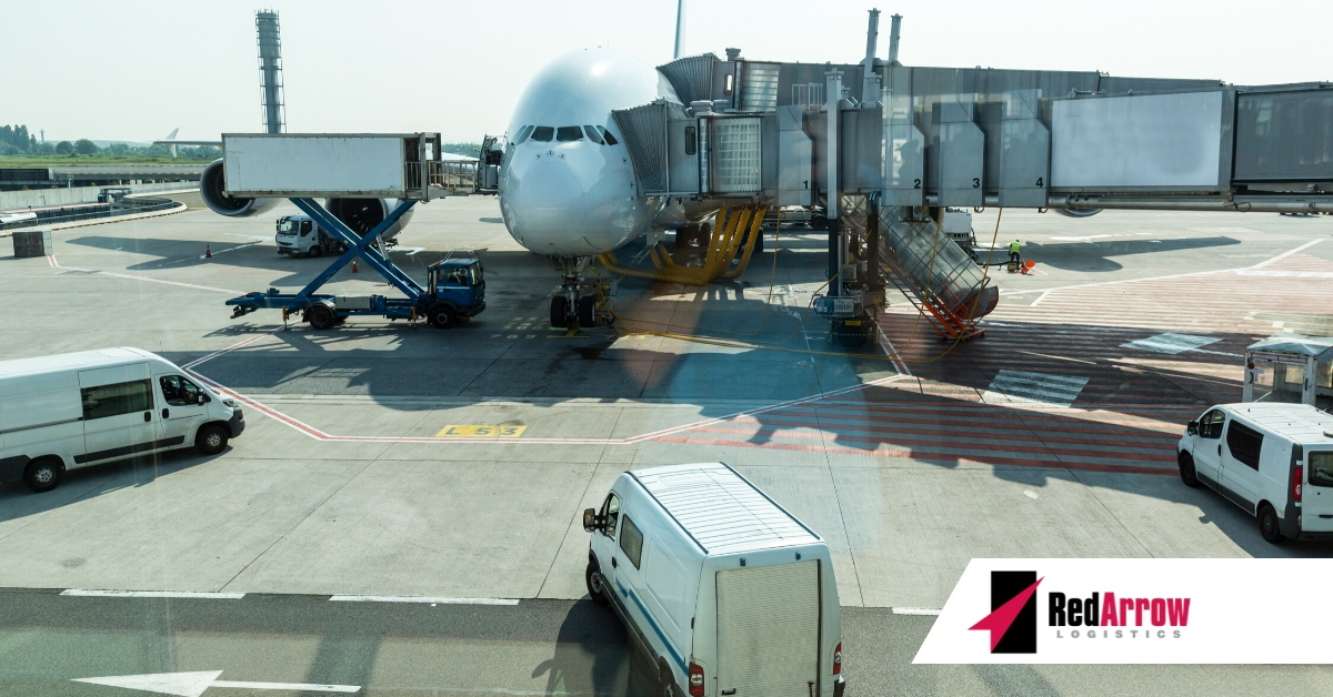 The Cargo Congestion Challenge in the U.S.   Red Arrow Logistics
