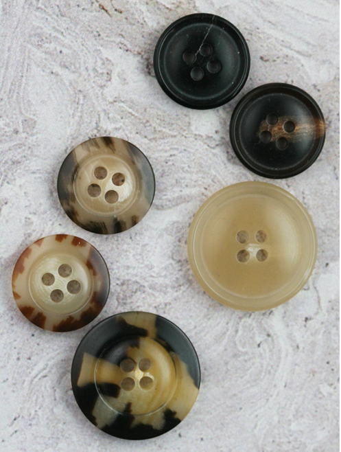 Waste Not, Why Not Want Recycled Polyester Buttons?