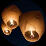 Biodegradable-chinese-lanterns-losangelesyachtcharter