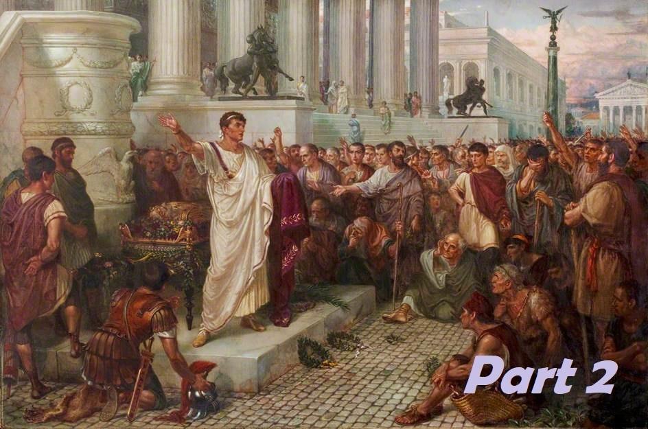 Tens, Romans & Lettermen – Part 2