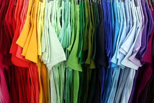 Color Coding & Other Organizational Ideas For Your Closet