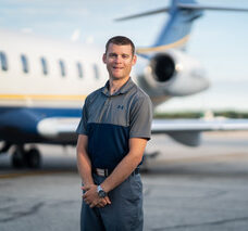 Jason Flood Trident Aircraft