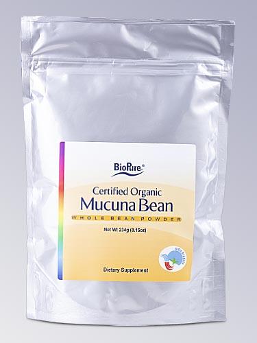 BioPure Certified Organic Mucuna Bean