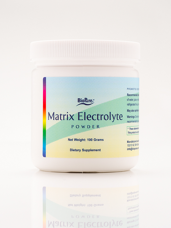 BioPure Matrix Electrolyte Powder