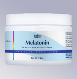 BioPure Melatonin Suppository