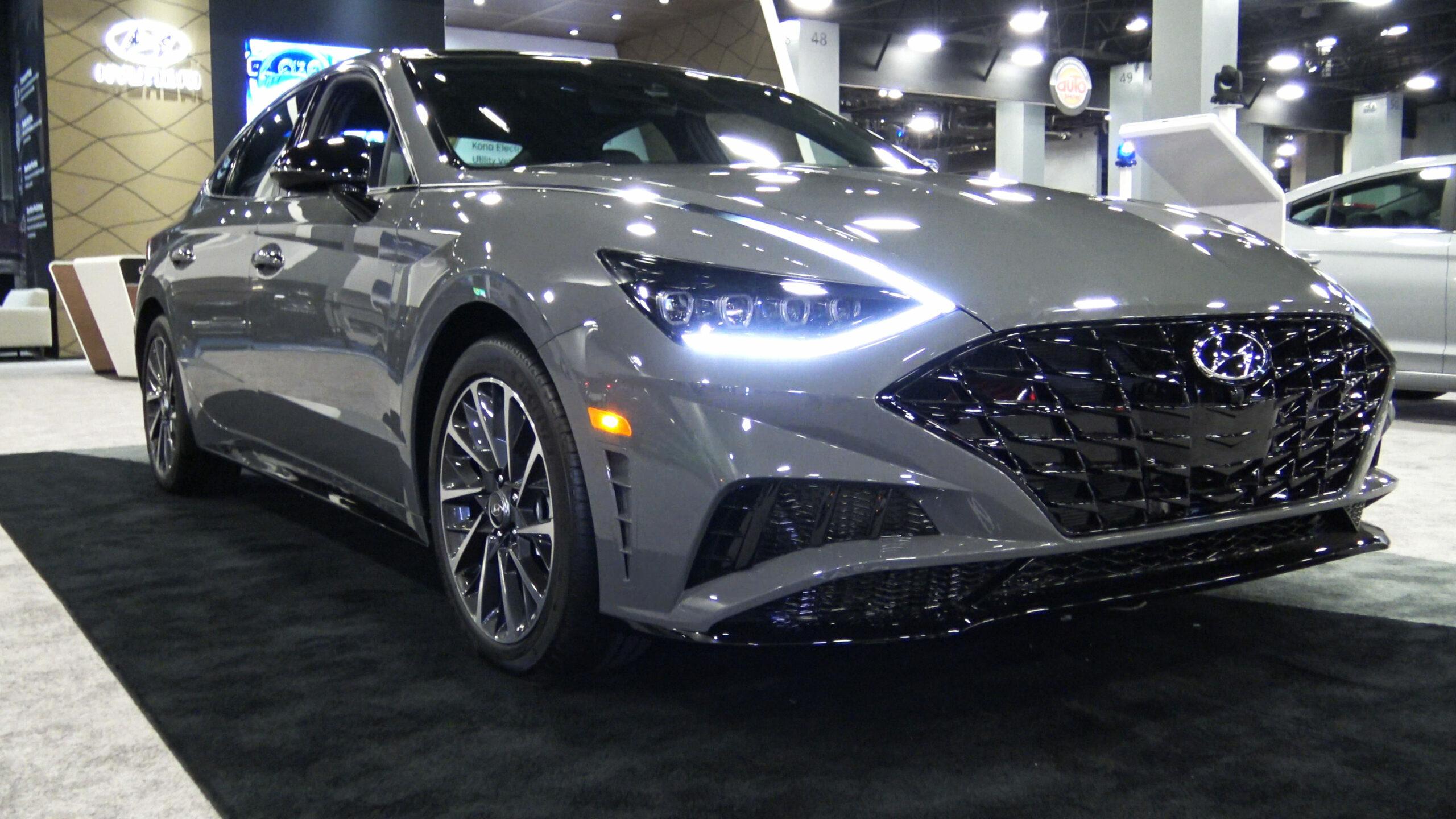 2020 Hyundai Sonata SEL Plus in Gray