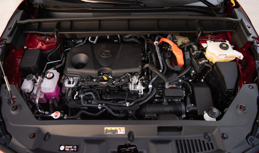 Engine Bay- 2020 Highlander Hybrid