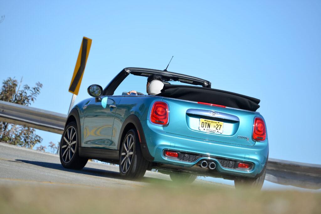 2021 Mini Cooper Convertible Rear 3/4