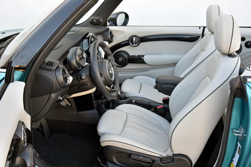 2021 Mini Cooper Convertible Front Seats