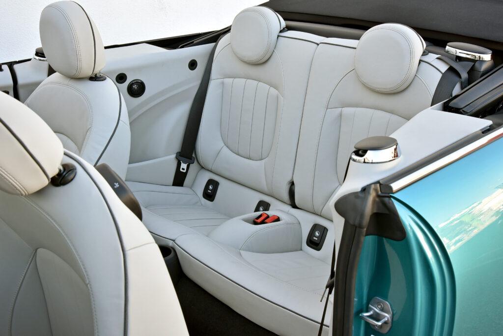 2021 Mini Cooper Convertible Rear Seats