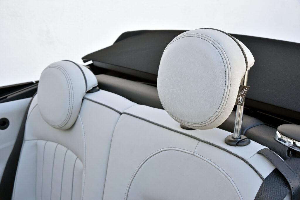 2021 Mini Cooper Convertible Adjustable Headrest