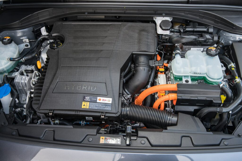 2021 Hyundai Ioniq Hybrid Engine - Underneath Hood