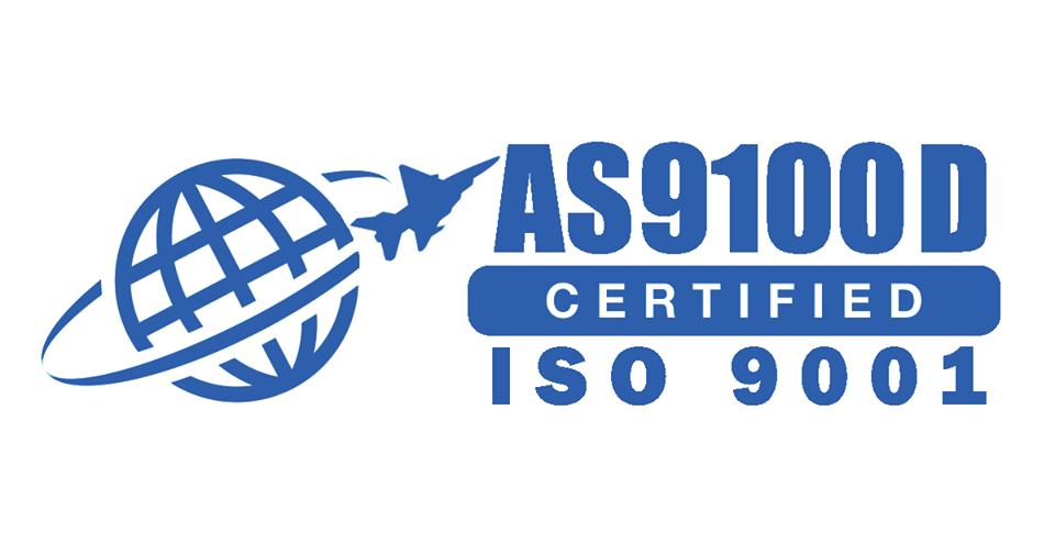 AS9100D Certified ISO-9001 AS9100 rev-D
