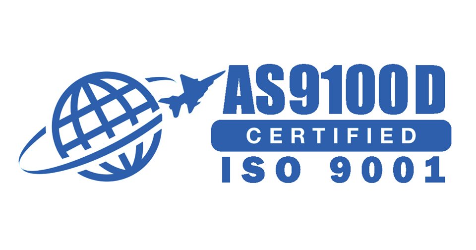 AS9100D Certified ISO-9001 AS9100 rev-D