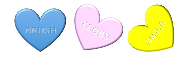 Show your kids' teeth some love this Valentine's Day!