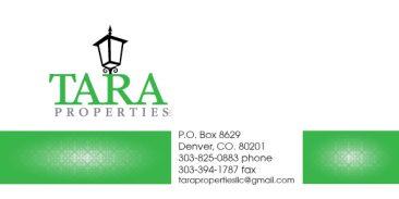Tara Properties Card