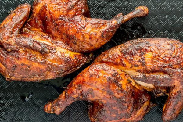 Split Smoked Chicken - The Peach Pelican