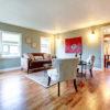 Living Room Hardwood Flooring - Knoxville