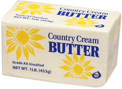 Picture of Country Cream 1 pound unsalted butter solids