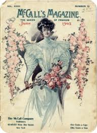 A 1905 cover of McCall's magazine.