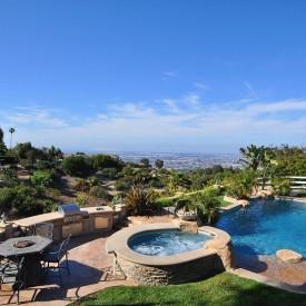 40 Back yard pool