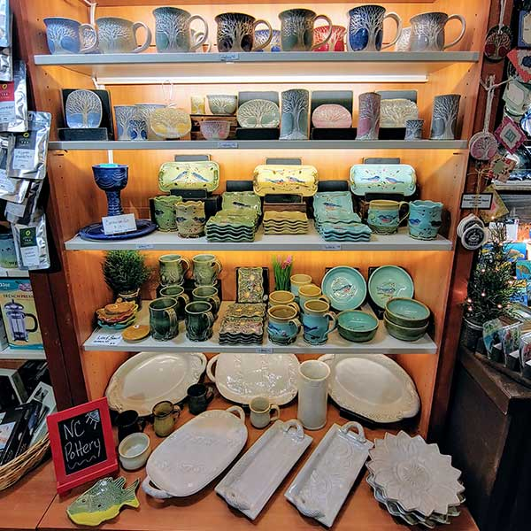 pottery from NC artisans