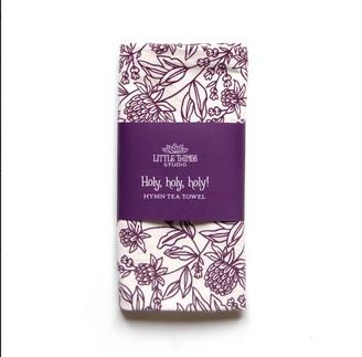 Hymn Tea Towel – Holy, Holy, Holy
