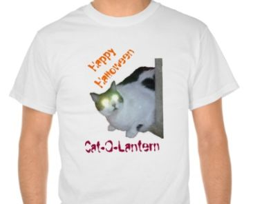Unusual Story of Our Halloween Cat-O-Lantern, Tshirt Tribute