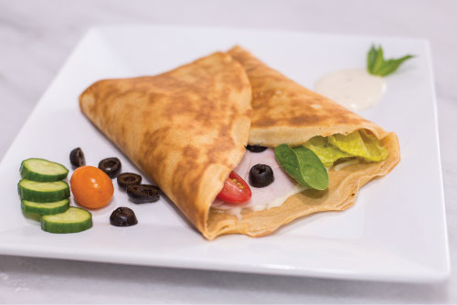 Morning Turkey Crepe