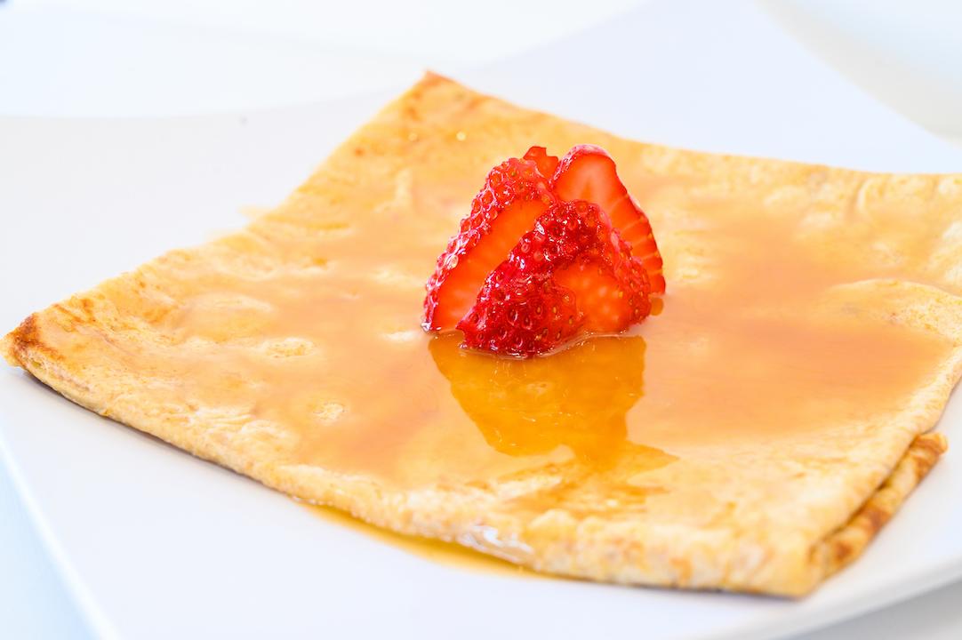Caramel Crepe