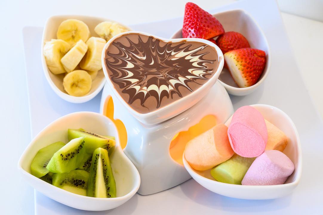 Chocolate Dip Plate (Small)
