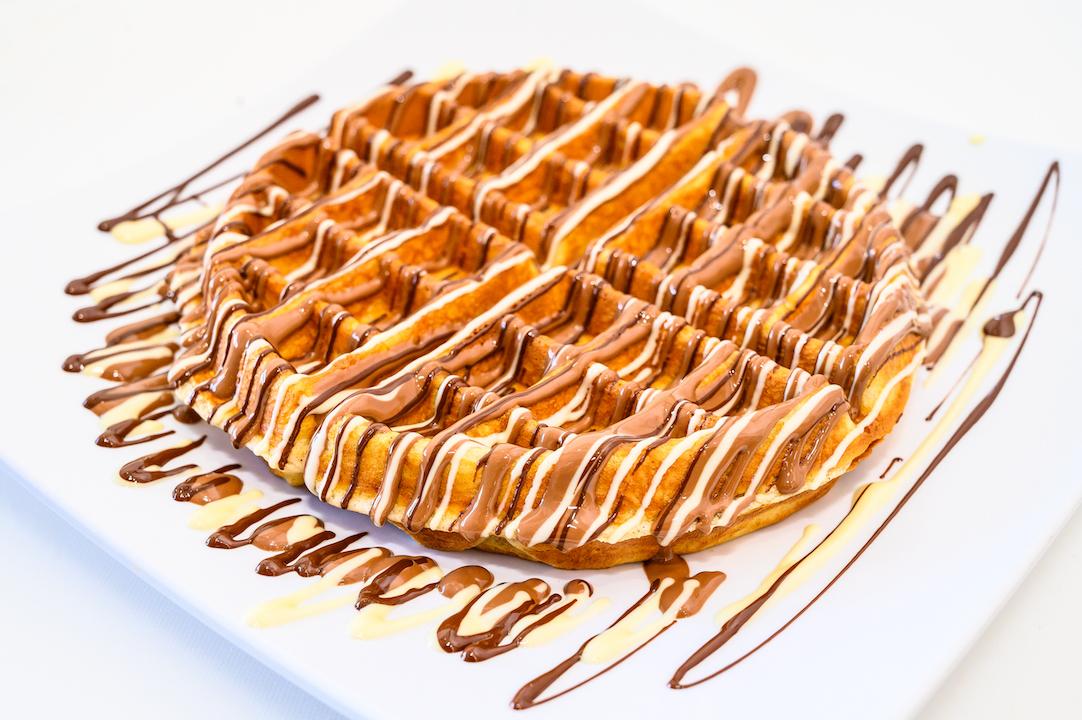 Triple Chocolate Waffle