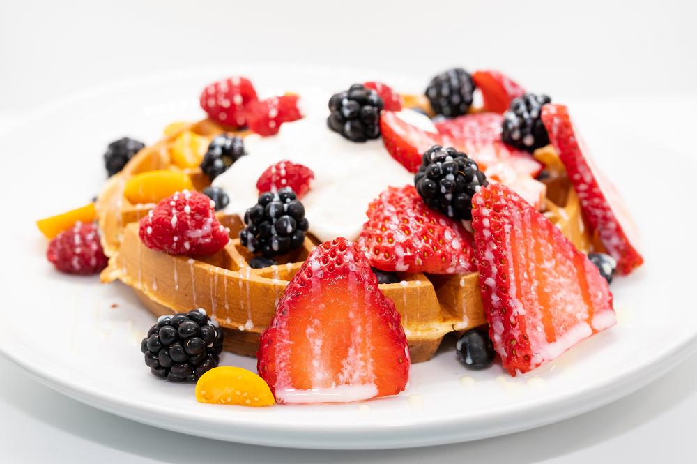 Mixed Berry Waffle