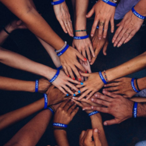 all hands in circle