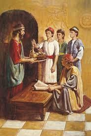 Daniel Refuses the Kings Food