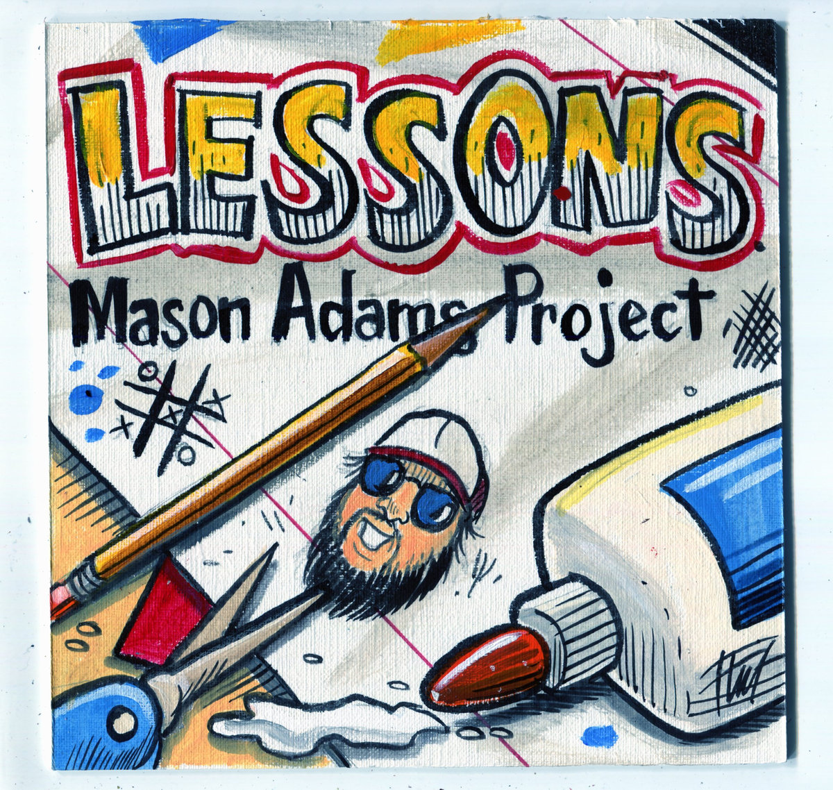 Lessons EP cover