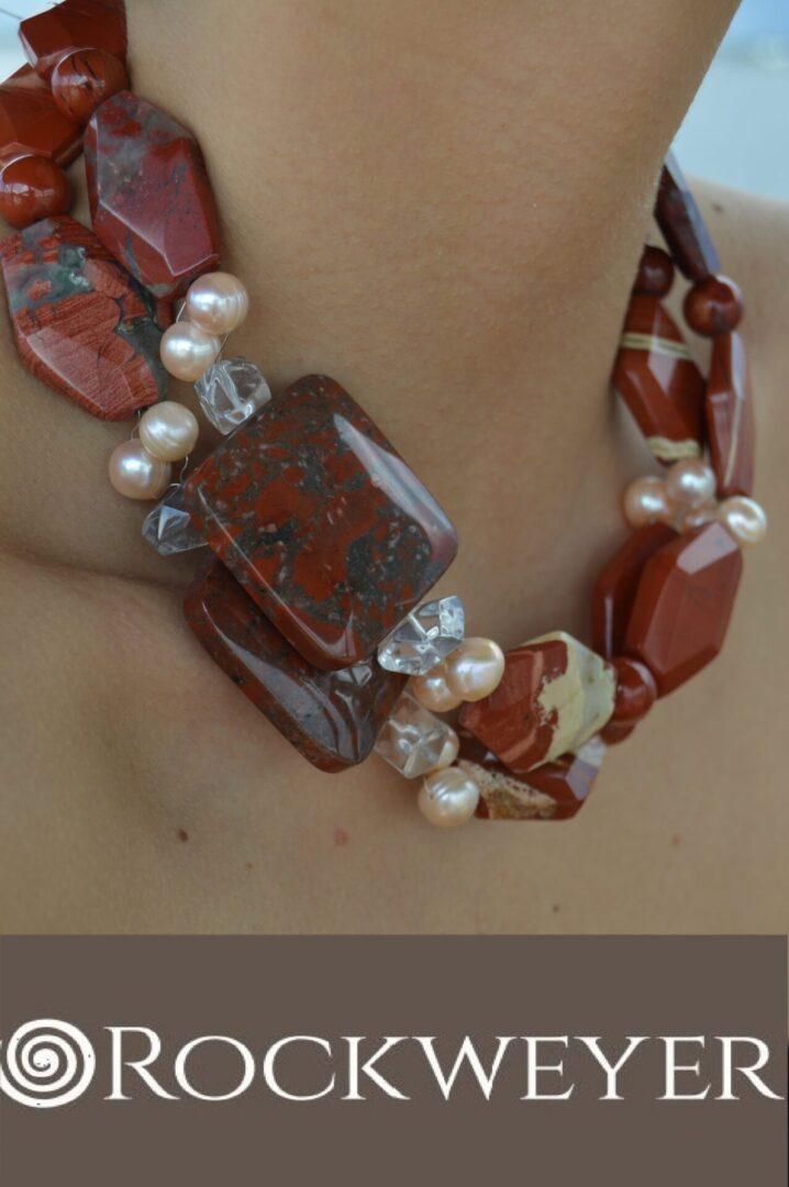 The Aussie Sunset necklace