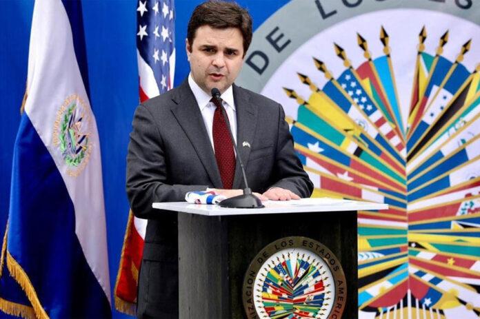 El enviado especial de Estados Unidos para el Triángulo Norte de Centroamérica, Ricardo Zúñiga