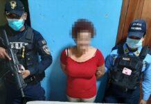 Ciudadana es detenida por el delito de porte ilegal de arma de fuego de uso permitido