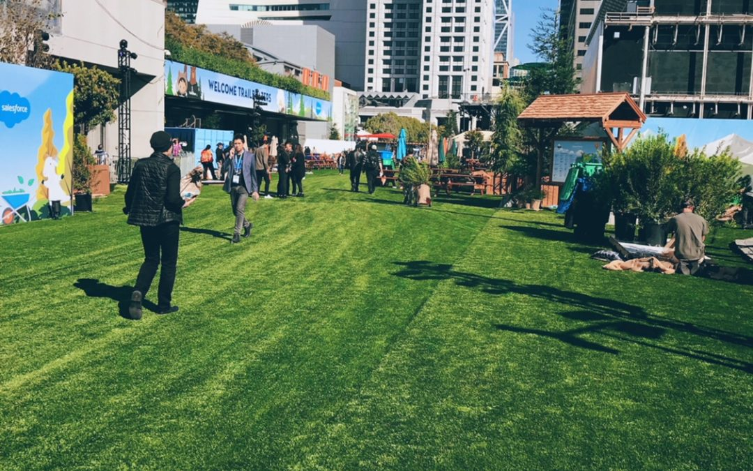 Dreamforce Install: Testing Artificial Grass to Its Limits