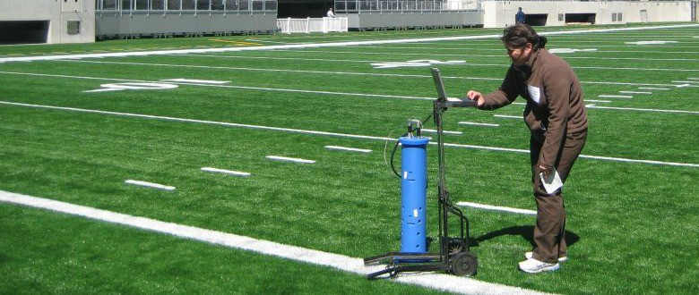 Artificial Turf Gmax Testing and Field Safety
