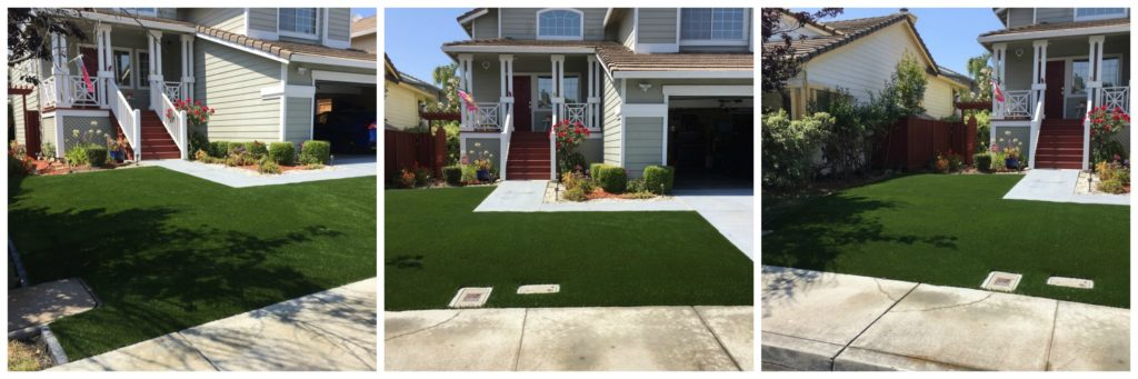 artificial grass commercial installations