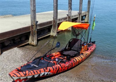 Kayak Sunshade Orange