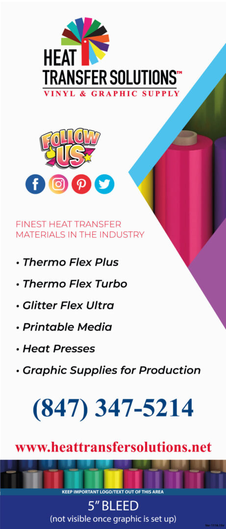 Heat Transfer Solutions Vertical Banner PRINT OUT