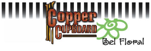 COPPER CUPBOARD bel floral logo only 2014